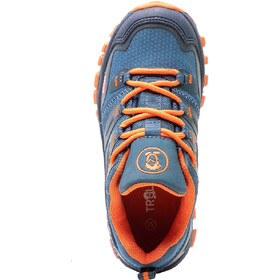 TROLLKIDS Rondane Hiker Low Shoes Kids, mystic blue/orange
